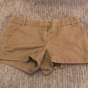 JCrew Chino shorts size 8